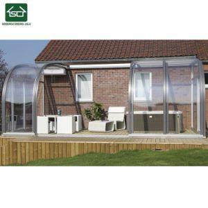 高品質のアルミ合金フレームのSunroom、Sunhouseは組立て式に作った