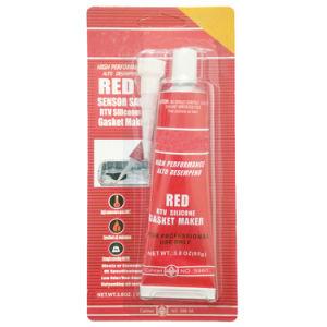 Álcali diluido la resistencia de la bomba de agua de la junta de silicona roja Maker