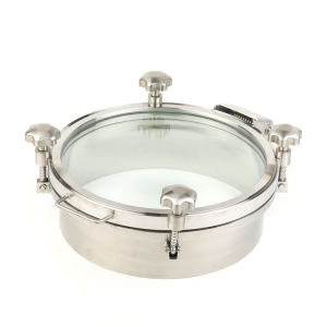 Acier inoxydable de qualité alimentaire Manway SS304/316L couvrir sans pression (CD-MC2994)