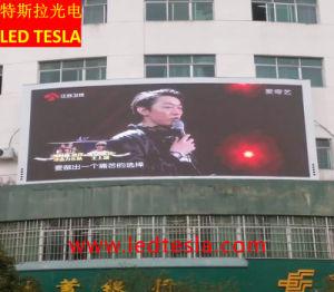 L'extérieur de la publicité P10 RVB Affichage LED étanche
