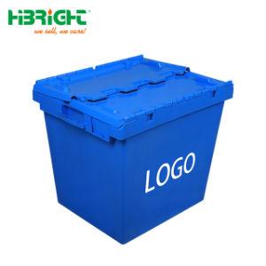 Sehr große Kapazitäts-logistischer Plastikvorratsbehälter mit Firmenzeichen