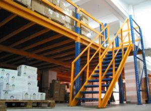 Multi Functionele Mezzanine van de Vloer van het Dek van het Metaal van het Rek van het Systeem Opschortende