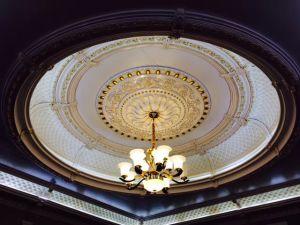 83020-A PU décoratifs Square médaillons de plafond pour les matériaux de construction