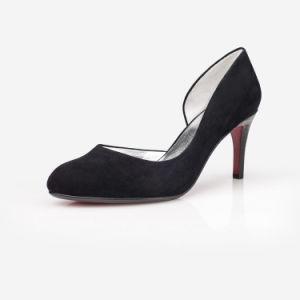 Mist lateral superior Stilettos Zapatos de Tacón zapatos de cuero para mujer