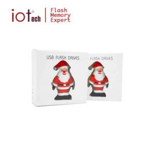 Оптовая торговля дешевые цены рождественские подарки ПВХ 8ГБ диск USB
