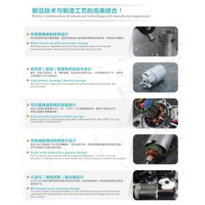 Motor DC 12V 180W-5530RS755SH di para cortina eléctrica
