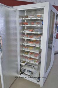 Caixa de almoço automática dos ovos de frutos do tipo sanduíche Pizza Máquina de Venda Automática do Robô