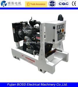 Yammarエンジン1800rpm 28kwを搭載する最も静かなディーゼル発電機
