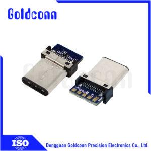 Verbinder Hersteller-Zubehör USB-C mit Prüfung USB-Tid