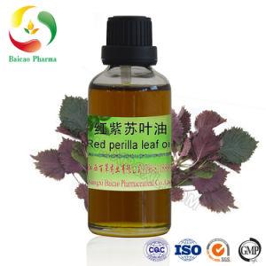 Nº CAS68153-38-8 Rojo OEM Perilla Leaf Aceite esencial (Clary Sage aceite) sabor alimentos Aceite con Fragancia de aceites de base de aceite esencial