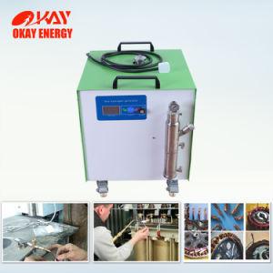 Le radiateur sur le fil de cuivre émaillé de réparation de l'hydrogène Hho Machine à souder