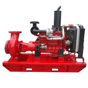Une seule étape fin horizontale Diesel d'aspiration de pompe à eau