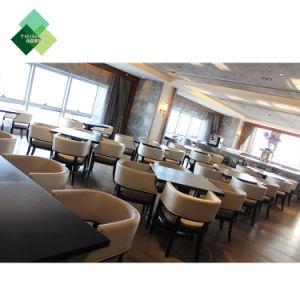 Personnalisation Table Chaise Canapé moderne en bois Meubles en cuir de tissu de métal pour l'Hôtel Restaurant La salle à manger de Fast Food Bar Café