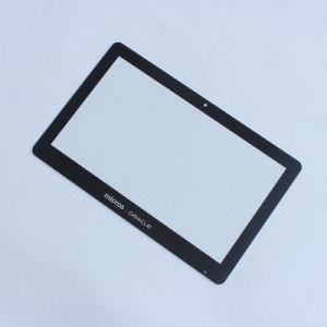 OEMの掲示板のタッチ画面外カバー緩和されたガラスのパネル