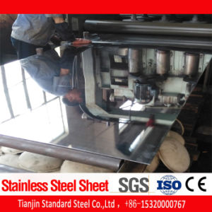 Strato Finished dell'acciaio inossidabile dello specchio AISI 316 (1.5mm 2.0mm)