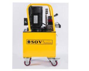 Продажи с возможностью горячей замены для двойной гидравлический домкрат гидравлический насос с электроприводом станции Sov Sdb 750