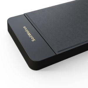 El mejor precio Qi Popular Teléfono Móvil Banco de potencia de carga rápida de cargador para teléfono móvil