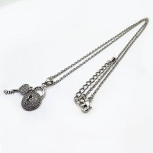 De Halsband van de Tegenhanger van het Medaillon van het Kristal van de Juwelen van de Manier van de douane