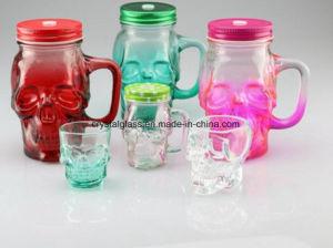 Vario vaso di muratore della cristalleria di colore