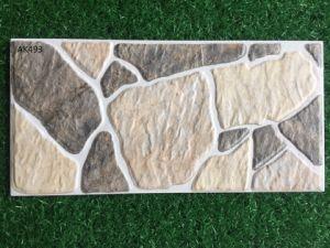 Tegel van de Muur van Inkjet de Rustieke Buiten Ceramische met de Matte Oppervlakte van de Afwerking