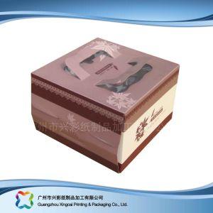 Упаковка крафт-бумаги гофрированный картон пиццу в салоне (xc-11-001)