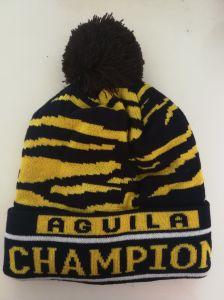 人の`Sのチーム米国Aguilaの標準的な帽子の暖かい伸縮性がある帽子の帽子