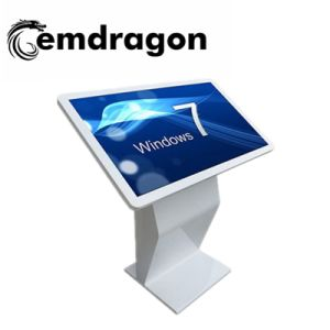 수평한 광고 선수 스크린 LCD 디지털 Signage를 광고하는 토템 모니터 LCD 영상 회의 센터 디지털을 광고하는 32 인치