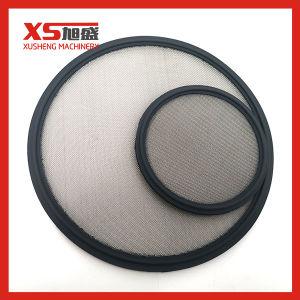 Высокое качество зажим Tri-Clamp вайтоновой прокладкой с SS 100 меш чистой