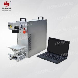 De Chinese Laser die van de Vezel van de Hoge snelheid 20W Machine met omhoog-benedenLijst merken