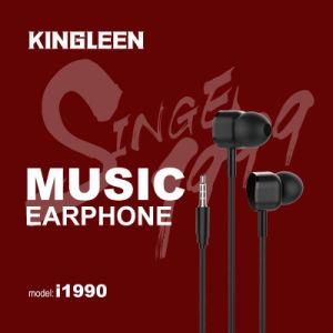 Earbuds Kopfhörer mit Mikrofon-Kopfhörer-Baß-Ton in den Ohr-Kopfhörern 3.5mm