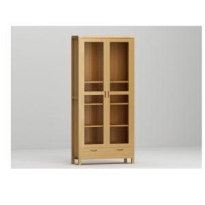 Neue Auslegung-festes Eichen-Bücherregal, hohes hölzernes Buch-Regal