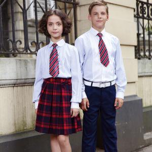 بيضاء قطر مدرسة قميص بدلة بالجملة لأنّ طالب