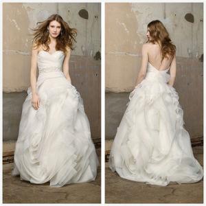 Één Schouder Aline Bridal Dress (XZ733)