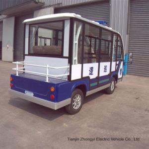 personalizado para o carro de polícia patrulha eléctrico