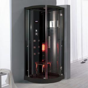 Gabinete de la ducha de vapor de infrarrojos de moda/ sala de sauna (la elegancia la serie K076)