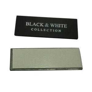Il migliore di piastra metallica in lega di zinco di vendita di formato della modifica su ordinazione del metallo