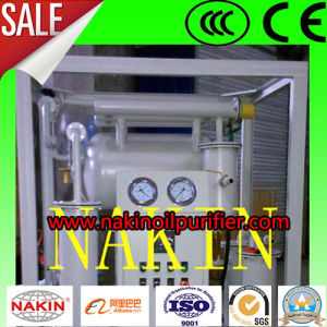 Utiliza el aceite del transformador de la Regeneración de aceite de vacío Máquina purificadora del filtrado de aceite,