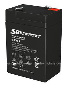 セリウムのRoHS ULが付いている器具電池6V4ahの重量を量るSBB