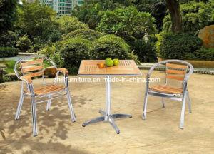 Mobilia di legno del patio, insieme di legno esterno, sedia di legno di alluminio (SGM-1)