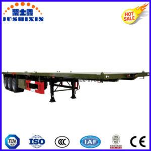 Halb benötigen Schlussteil-Fahrzeug-Transportvorrichtung-Flachbettschlußteil