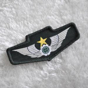 Indietro con la zona del Velcro per l'uniforme dell'esercito