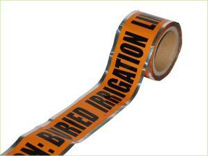 Al Oranje Kleur van de Band van de Waarschuwing van de Folie de Ondergrondse Opspoorbare