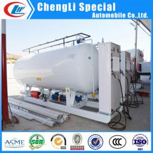 La norme ASME 10000litre 5tonne Mobile Station de patin de remplissage de gaz GPL