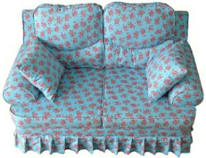 Pillow (SXBB-287)の花Princess Toddler Upholstered Chair