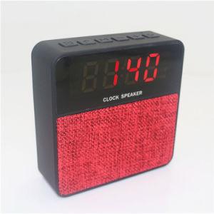 Neues Patent-Gewebe drahtloser LED-Bildschirmanzeige-Alarmuhr Bluetooth Lautsprecher