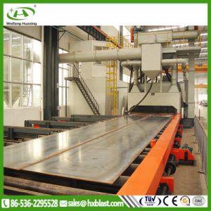 Linea di produzione automatica di pulizia di Abrator di lavorazione del piatto d'acciaio di Hxq