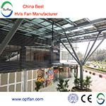 Scelgono i ventilatori di soffitto industriali per l'industria di logistica