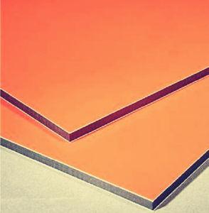 comitato di alluminio composito delle decorazioni interne di serie di colore chiaro di larghezza di 2000mm