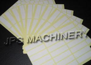 Pré-impresso etiqueta e a etiqueta impressa máquina de corte