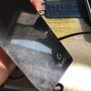 重金属はニッケル黒いミラーのクロム終わりの金属粉のコーティングを模倣しない